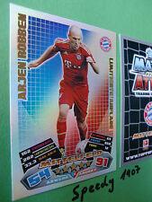 Topps Match Attax 12 13 Robben L14  Limitierte Auflage  Saison 2012/13 LE14