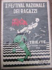 Miela Reina - II Festival Nazionale Ragazzi - Trieste - Illustrazione - Grafica