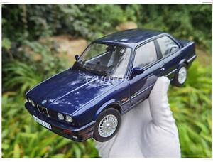 Norev 1/18 BMW 325i 3 Series 1988 Diecast Model Car Kids Toys Gifts Display Blue