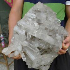 52.3LB AAAAA+++ NATURAL tibetan Quartz Crystal Cluster AWESOME FORM