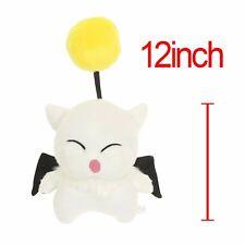 "Final Fantasy MOG Moogle Mogli Flying Cat Animal Character 12"" Plush Toy Stuffed"