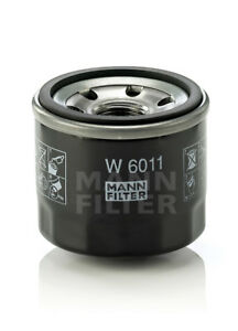 Oil Filter fits Smart Fortwo 1.0L engine 2008-2014 MANN W6011 OE# 1321800010