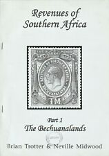 BECHUANALANDS REVENUE STAMPS, Revenues of Southern Africa Pt 1, Fiscals, Trotter