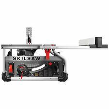 Skilsaw SPT70WT-22 15 Amp Corded Electric 10 In. Portable Worm Drive Table Saw