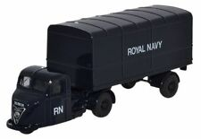 BNIB OO GAUGE OXFORD 1:76 76RAB010 SCAMMELL SCARAB VAN TRAILER ROYAL NAVY