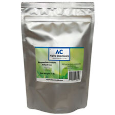1 Pound - Magnesium Sulfate - Anhydrous - 19.8% Mg