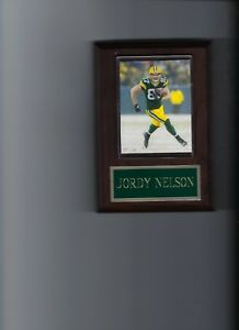 JORDY NELSON PLAQUE GREEN BAY PACKERS FOOTBALL NFL