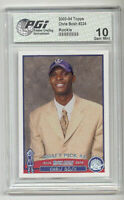 Chris Bosh 2003 Topps Rookie Card PGI 10 Miami Heat RC