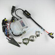 Motorcycle HID Headlight Bi-Xenon AC Slim Ballast Kit H4 H6 6000K 35W Hi/Lo Bulb