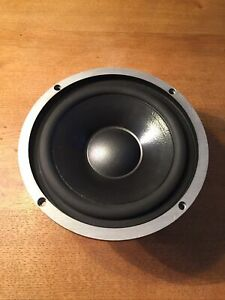 "1x Tieftöner ISOPHON PSL 225 ALU 4Ohm Bass 225mm Vintage 8,5"" Woofer Low-Speaker"