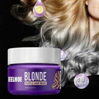 1pcs Shampoo The Hair Shampoo Purple Toner Blond Hair Hair Care E7B3