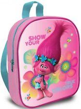 Trolls True Colors Poppy Pink Girls Children Nursery Backpack