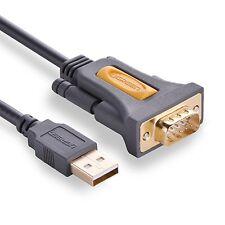 Ugreen usb vers série RS232 DB9 adaptateur convertisseur câble avec chipset PL2303 co...