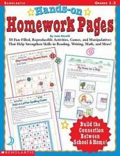 Hands-On Homework Pages : 50 Fun-Filled, Reproducible Activities, Games, and...