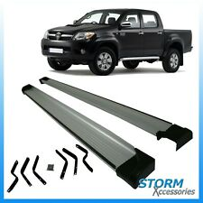 TOYOTA HILUX 2006-2015 DOUBLE CAB OE STYLE RUNNING BOARDS / SIDE STEPS