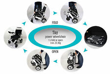 Ideal Tiny 6 Powered Lithium Electric Wheel Chair Instant Folding Ultra Portable