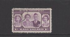 BASUTOLAND 1947 1s MAUVE ROYAL VISIT Fine Used