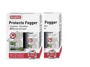 Flohbombe Beaphar Protecto Fogger Sparpaket 3x75ml Insekten Vernebler Ungeziefer