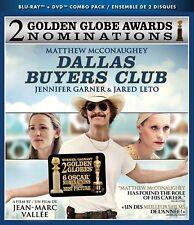 Dallas Buyers Club (Blu-ray/DVD, 2014, 2-Disc Set, Canadian) NEW