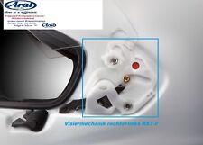 CASCO Arai Vas-V BASETTA VISIERA MECCANICA rx7-v QV-Pro Chaser-X nuova generazione