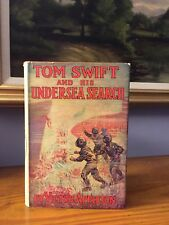 Tom Swift And The Undersea Search 1920 Appleton With Dust Jacket