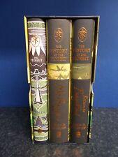 Tolkien. History of The Hobbit. John Rateliff. 3 Vols Hardback Box Set 2007 LotR