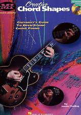 CREATIVE CHORD SHAPES FOR GUITAR TAB & Notes Tutor Music Book & CD Shop Soiled