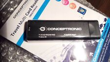 Conceptronic Travel Multi Card Reader SD/SDHC/MMC Micro SD MS/MS-PRO/MS-DUO M2