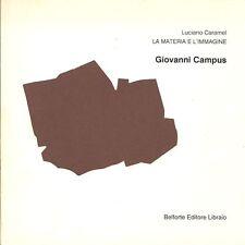 CARAMEL Luciano - Giovanni Campus