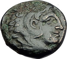 ALEXANDER III the Great 325BC Macedonia Ancient Greek Coin HERCULES CLUB i62741
