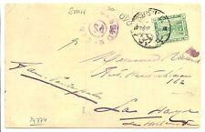 NED INDIE S.M.N. 1915-4-4  FOTO AK= S.S. KONINGIN DER NEDERLANDEN=EGYPT FINE