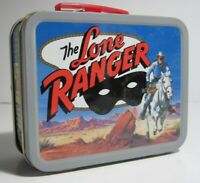 Lone Ranger Cheerios 60th Anniversary Mini Metal Lunchbox  2001