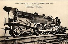 CPA Les Locomotives Francaises-NORD, Type Baltic (423157)