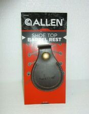 New Allen Leather Shoe Top Barrel Rest For Trap Skeet Range shoe protector S-5