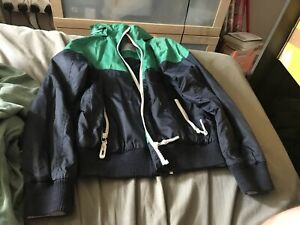 One Waterproof Jacket Age 11 From Next Colour IsBlack and green