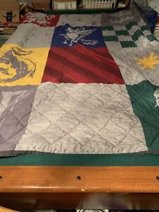 Harry Potter Comforter with Slytherin, Gryphondor, Hufflepuff, and Ravenclaw