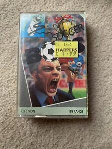 Soccer Boss-ELECTRON/BBC Model B MICRO COMPUTER CASSETTE GAME