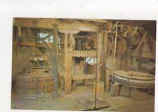 Grinding Stones & Sackhoist Calbourne Mill Postcard IOW 640a