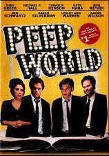 NEW DVD // Peep World  //  Michael C. Hall (DEXTER ),Rainn Wilson,(THE OFFICE)