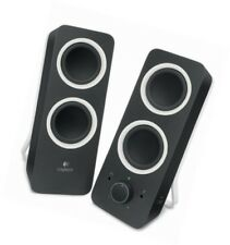 Logitech Z200 Multimedia Desktop Stereo Speakers with 3.5mm Line In/Out - 10w