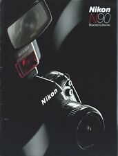 Camera Brochure - Nikon - N90 - 1993 (Cb198)