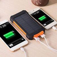 20000 mAh Solaire Portable Chargeur de Batterie Externe Batteries Voyage