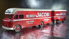BREKINA 57750 Meinolf Jacobi Lorry and Trailer 1 87 HO Scale