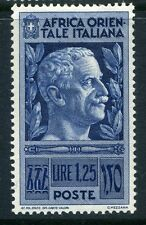 ITALY;  EAST AFRICA  1938 first issue fine Mint hinged  1.25L. value