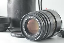 【MINT】Minolta M Rokkor 90mm f/4 for CL CLE Leica M Mount w/Hood from Japan #1310