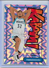 """2016-17 PANINI EXCALIBUR KARL ANTHONY TOWNS SP KABOOM CASE HIT #3 """"WOLVES"""""""