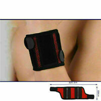 Adjustable Sports Wrist Brace Wrap Bandage Support Elastic Strap Wristband Black