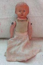 DEALER-RITA  Antique  doll paper mache articulated to restore