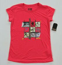 Neuf All Star Converse T-Shirt Enfants Fille Filles Rose Gr.152-158