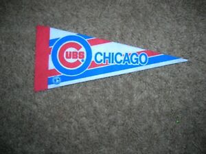Chicago Cubs 1980's mini pennant